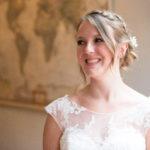 BEAUTIFUL MORNING  Bruidsmakeup-150x150 voorbeelden van bruidskapsels romantische bruidskapsels proefsessie opgestoken los krullend knotje klassieke bruidskapsels golvend