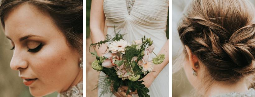 Bruidsmakeup | Bruidskapsel | Make-up | Hairstyling Ontwerp-zonder-titel