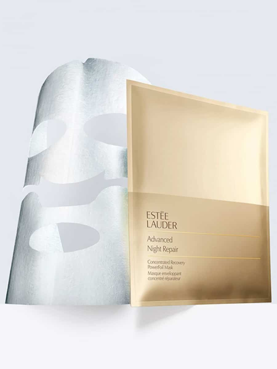 BEAUTIFUL MORNING  estee-lauder-advanced-night-repair-powerfoil-mask- permanent krullen haarkleur Beach waves